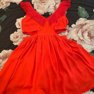 H&M Red Mini dress